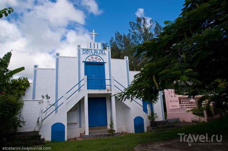 Храм Пор дю Сиель в Порт-Вила, Вануату / Фото из Вануату