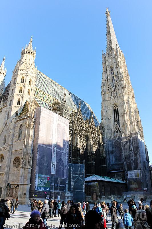 Собор Святого Стефана, Вена / Фото из Австрии