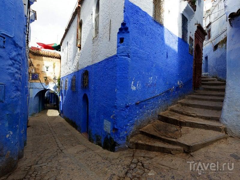 """""""Голубой город"""" Шавен был основан в 1471 году, Марокко / Марокко"""