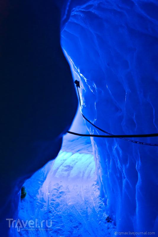 Вглубь ледника! / Фото из Австрии