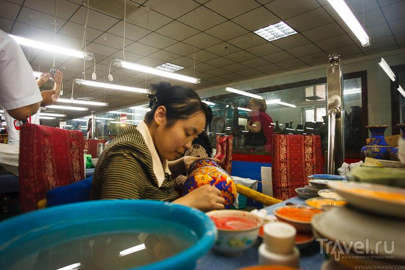 Фабрика перегородчатой эмали, Пекин / Китай