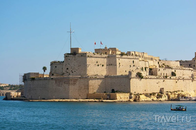 Форт Святого Ангела в Биргу / Фото с Мальты