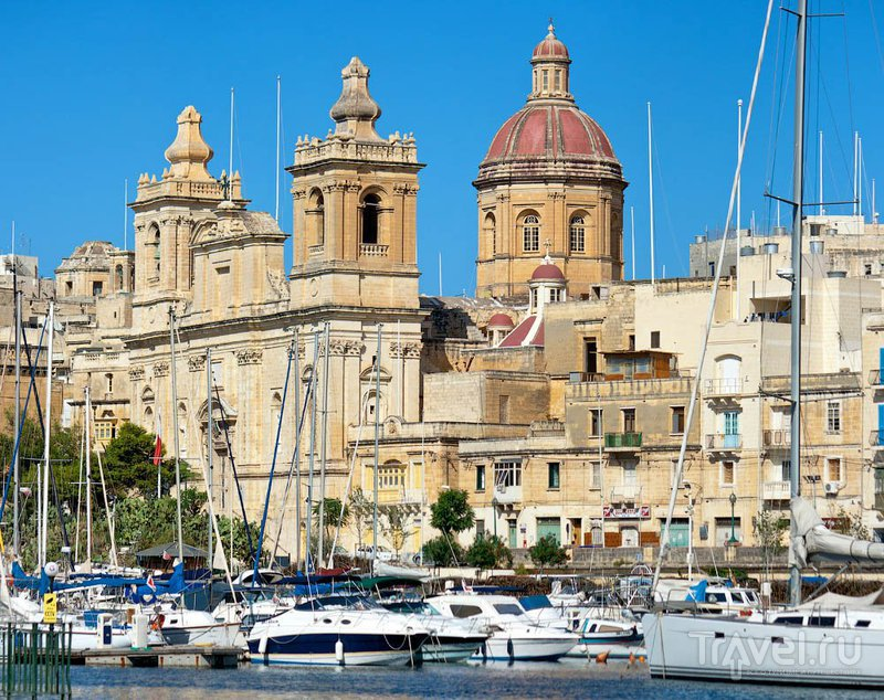 Церковь Святого Лаврентия в Биргу / Фото с Мальты