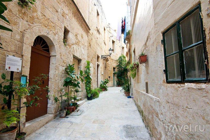 Улица Трамунтана в Биргу / Фото с Мальты