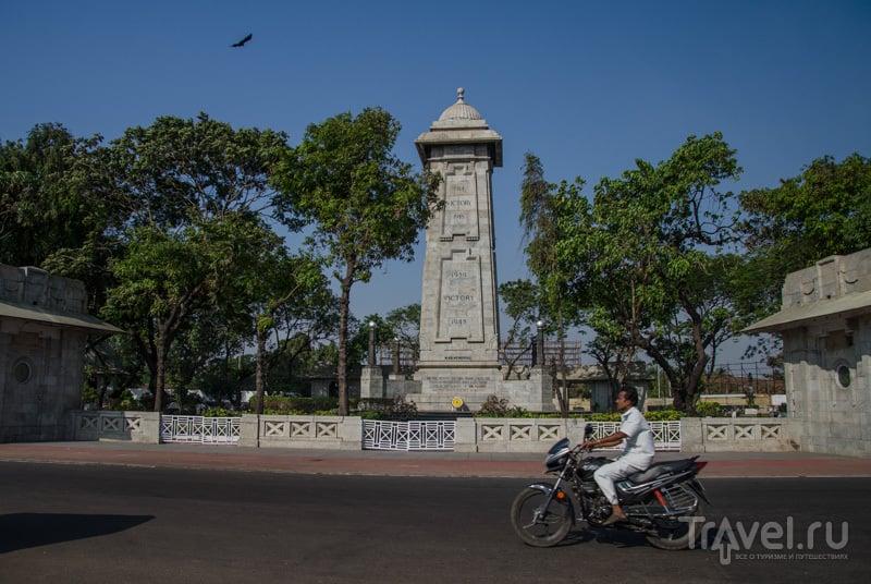 Победная стелла / Фото из Индии