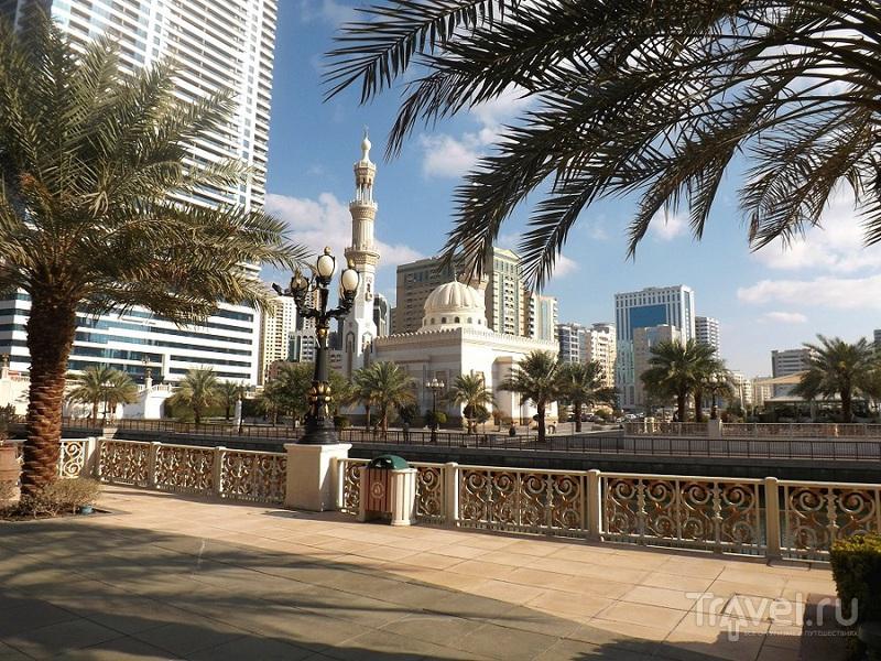 Эмираты крупным планом: Аль-Касба, Шарджа / Фото из ОАЭ
