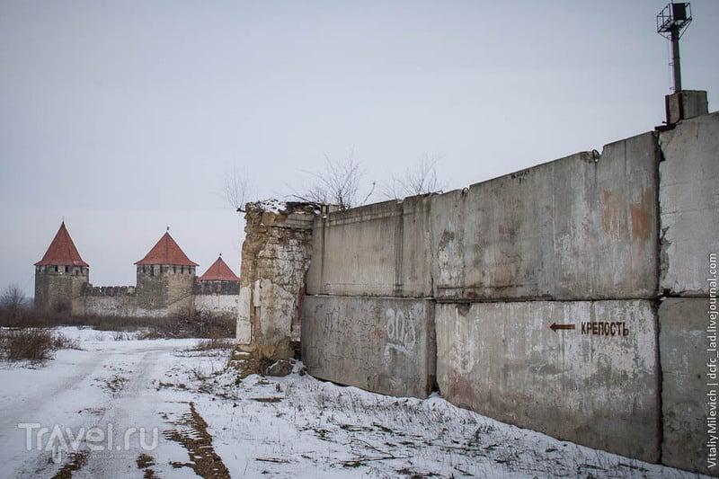 Бендерская крепость - цитадель среди промзоны / Молдавия