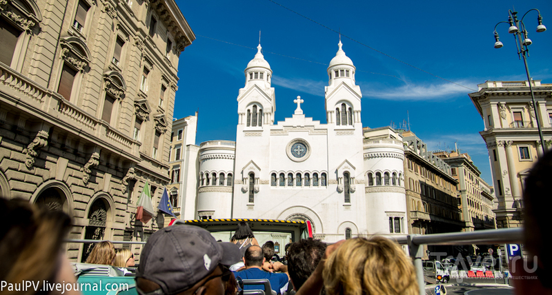 La Chiesa Evangelica Valdese в Риме, Италия / Фото из Италии