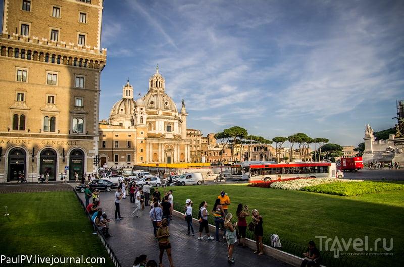 Церковь Санта-Мария-де-Лорето в Риме, Италия / Фото из Италии