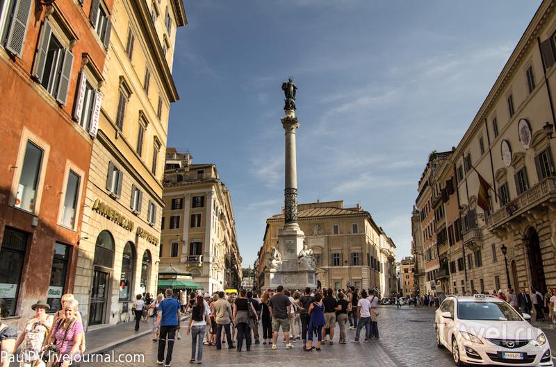 Via del Babuino в Риме, Италия / Фото из Италии