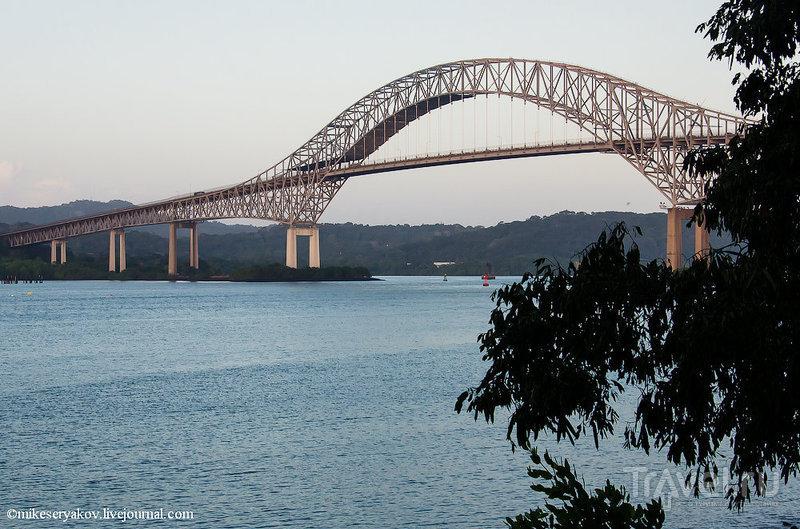 Мост двух Америк в Панаме / Фото из Панамы