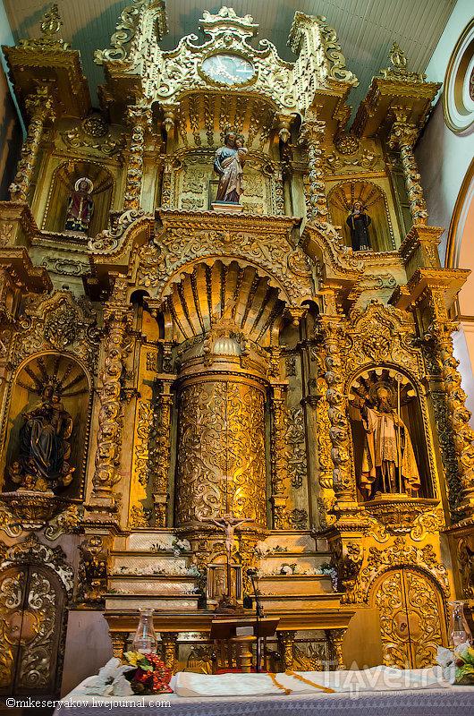 """Церковь """"Золотого Алтаря"""" в Каско-Вьехо / Фото из Панамы"""