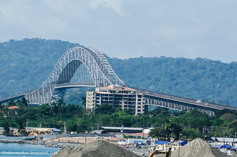 Панама Сити и Панамский канал / Фото из Панамы
