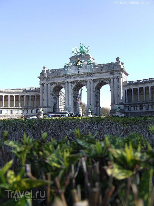 Триумфальная арка в Брюсселе / Фото из Бельгии