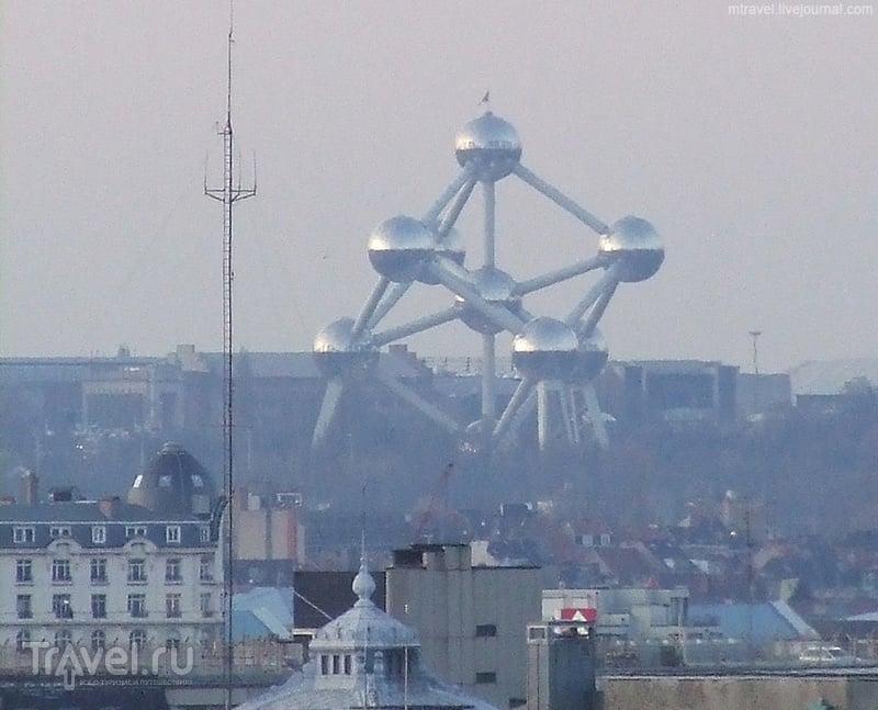 """""""Атомиум"""" в Брюсселе / Фото из Бельгии"""