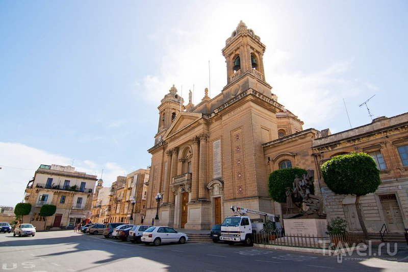 Церковь Богородицы Победоносной (Our Lady of Victories) в Сенглее / Фото с Мальты