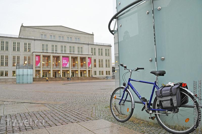 Оперный театр в Лейпциге / Фото из Германии
