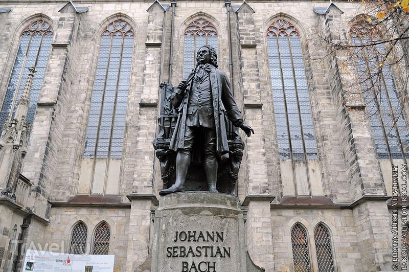 Памятник И.С. Баху в Лейпциге / Фото из Германии