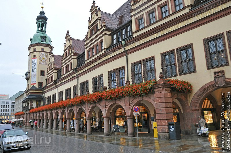 Старая ратуша в Лейпциге / Фото из Германии