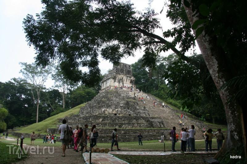 Пирамиды Паленке рядом с нами / Мексика