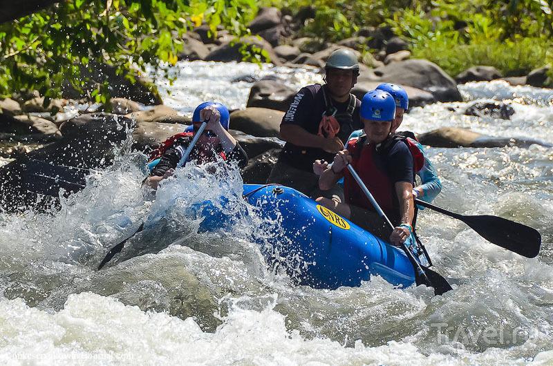 На реке Бальса, Коста-Рика / Фото из Коста-Рики