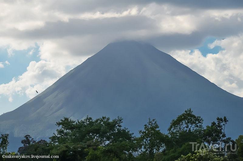 Вулкан Ареналь, Коста-Рика / Фото из Коста-Рики