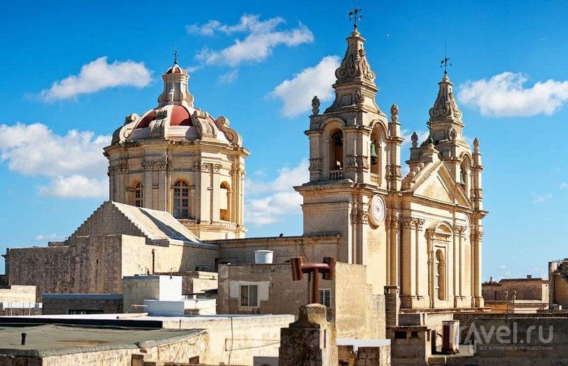 Кафедральный собор Святого Павла в Мдине / Фото с Мальты