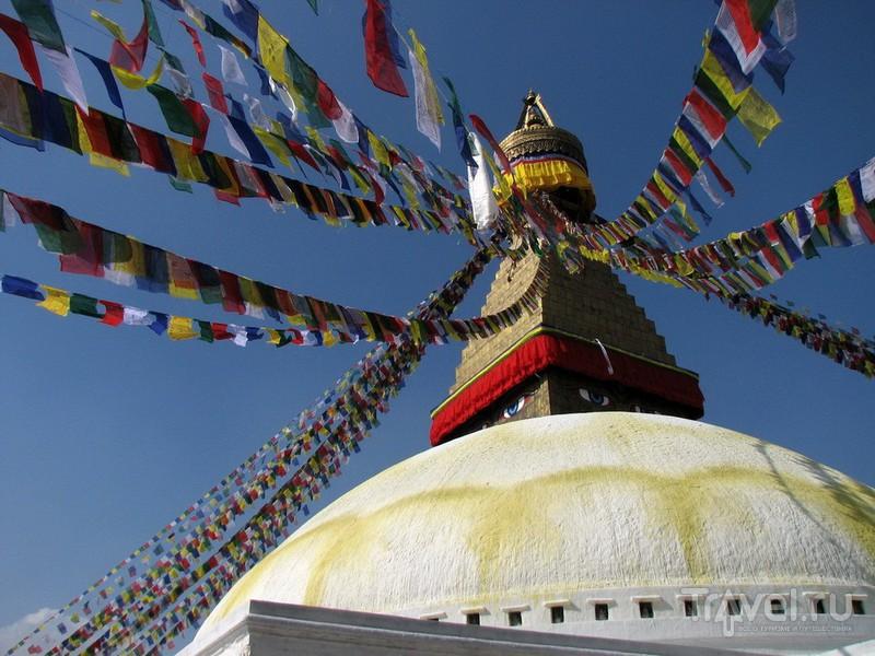 Боднатх / Фото из Непала