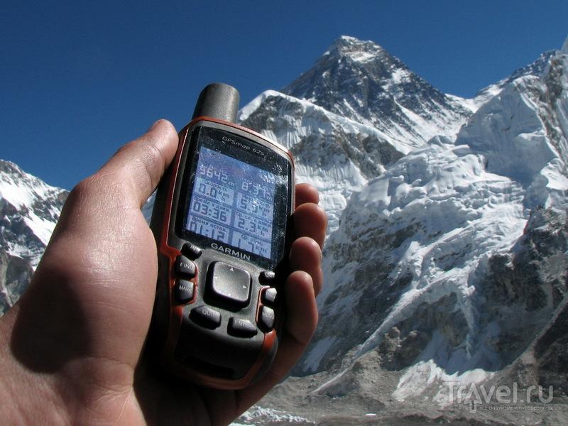 На вершине Кала-Паттар / Фото из Непала