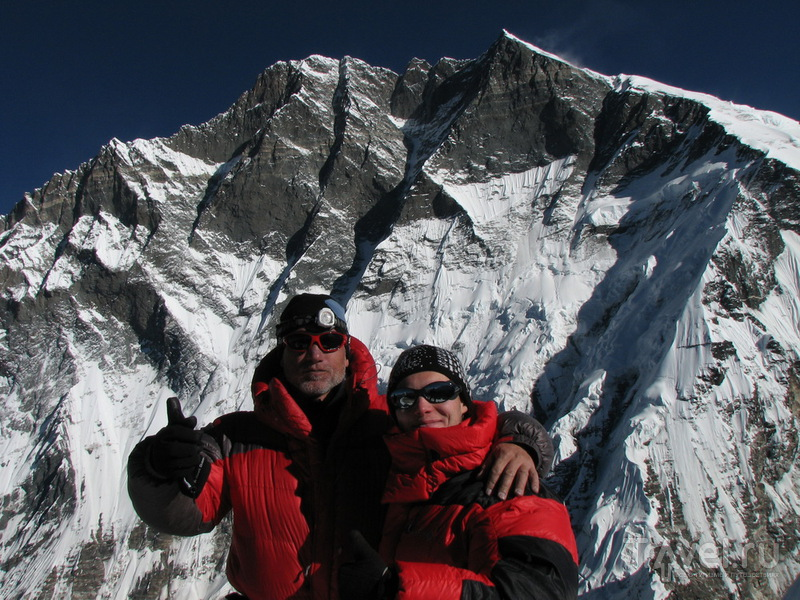 На вершине Айленд-Пика / Фото из Непала