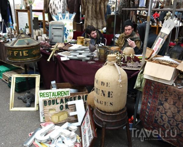 Блошиный рынок Спиталфилдс. Лондон / Великобритания