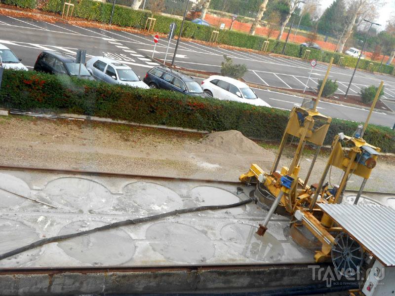 Приготовление лечебной грязи в Сирмионе / Фото из Италии