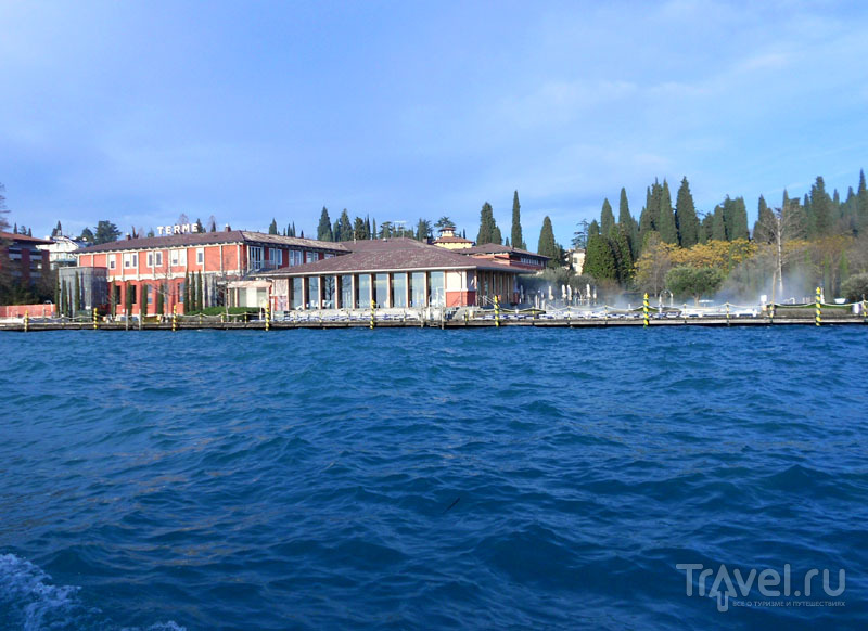 Aquaria, вид с озера / Фото из Италии