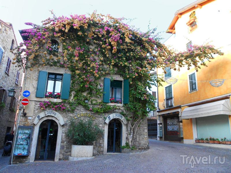 Дом с бугенвиллеями  в Сирмионе / Фото из Италии