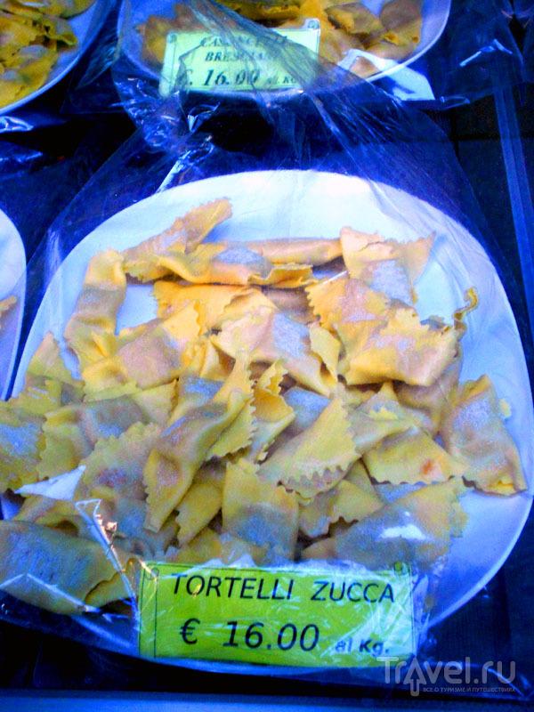 Тортелли с сыром багосс / Фото из Италии