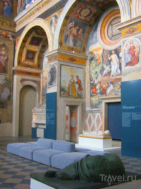 Церковь Санта-Джулия  в Брешии / Фото из Италии