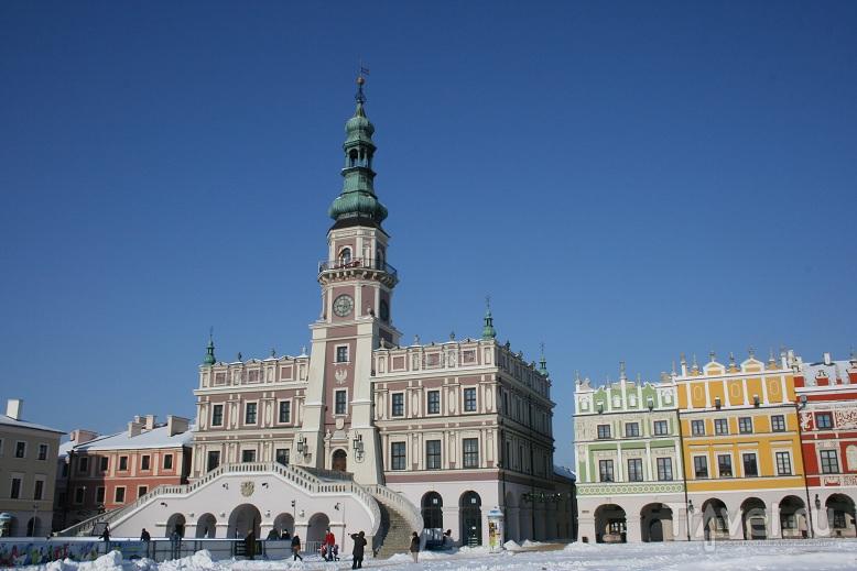 Рыночная площадь Замощча / Фото из Польши