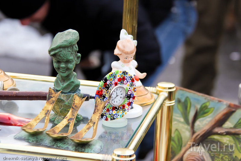 Прогулки по Вене: блошиный рынок Нашмаркт / Фото из Австрии