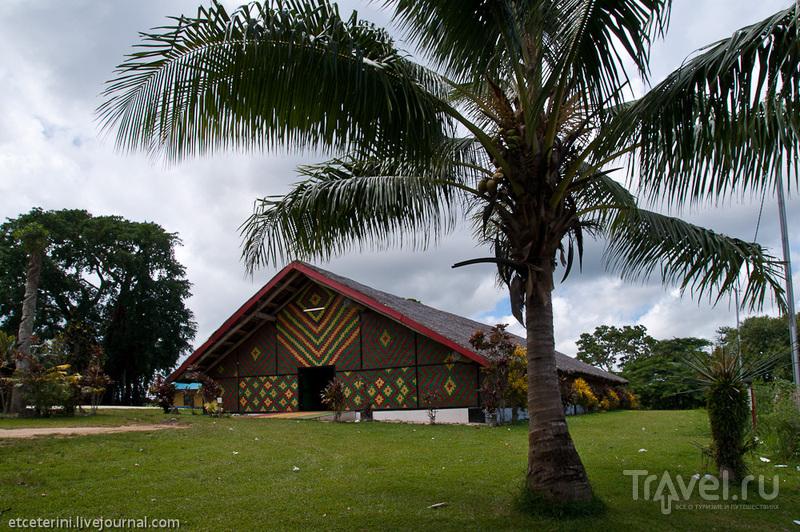 """Место сбора совета племенных вождей Вануату """"Чифс Накамаль"""" / Фото из Вануату"""