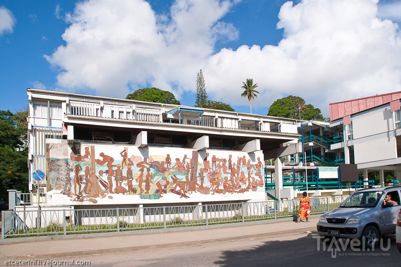 Здание правительства Вануату / Фото из Вануату