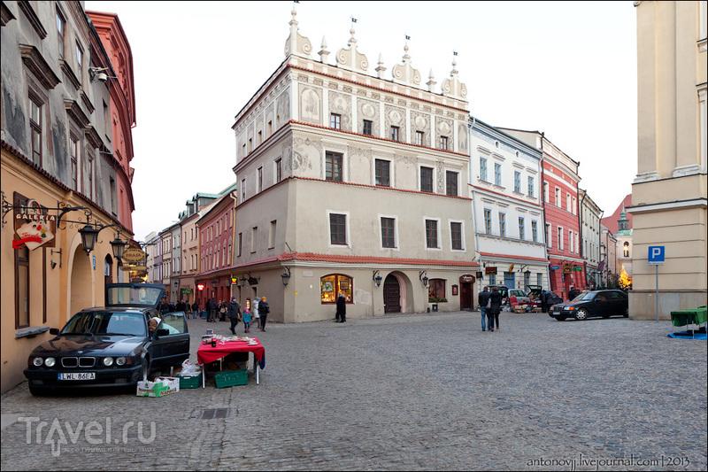 Рыночная площадь в Люблине / Фото из Польши