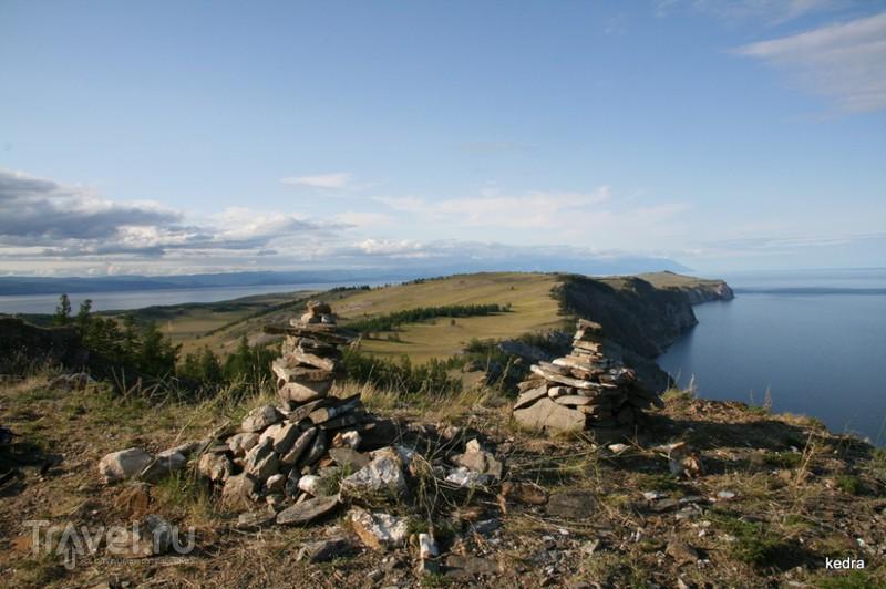 Мыс Хобой, озеро Байкал / Фото из России