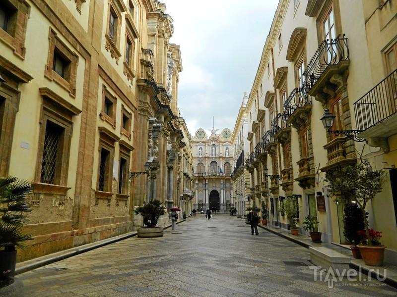 Corso Vittorio Emanuele в Трапани / Фото из Италии