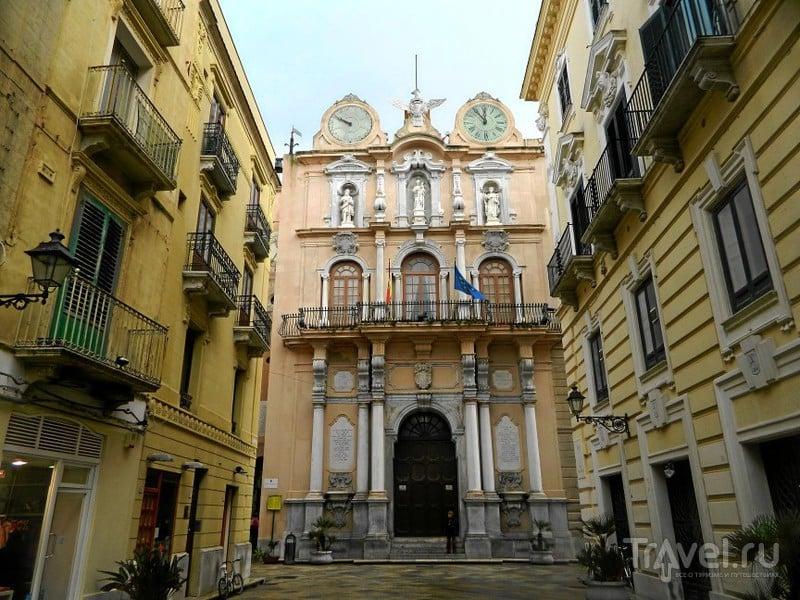 Дворец сената в Трапани / Фото из Италии