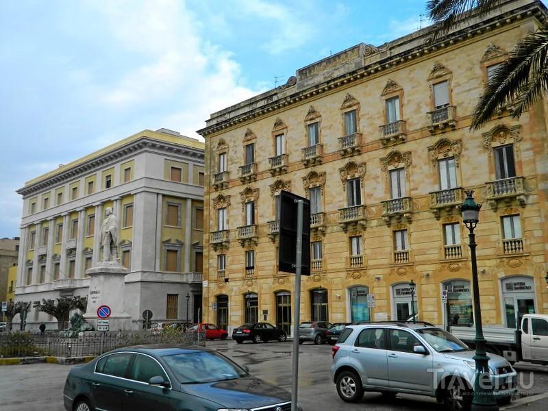 Piazza VIII Novembre в Трапани / Фото из Италии