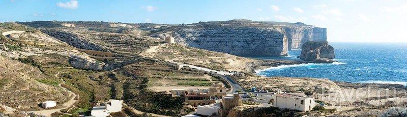 Залив Двейра на Гозо / Фото с Мальты