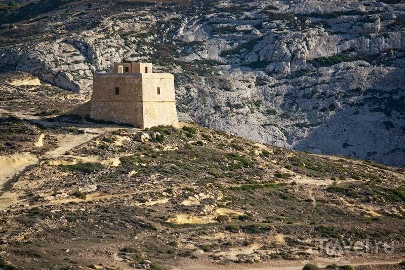 Башня Двейра на Гозо / Фото с Мальты