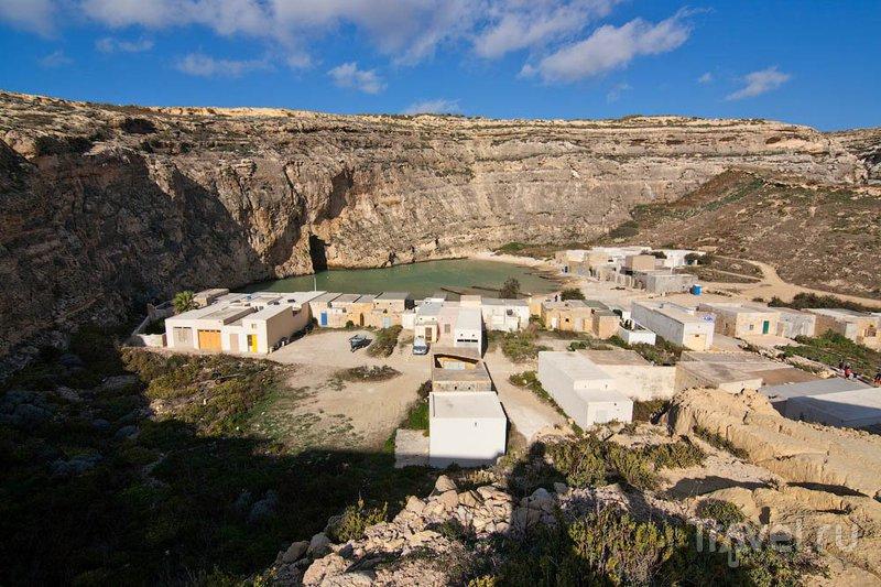 "Мини-залив ""Внутреннее море"" на Гозо / Фото с Мальты"