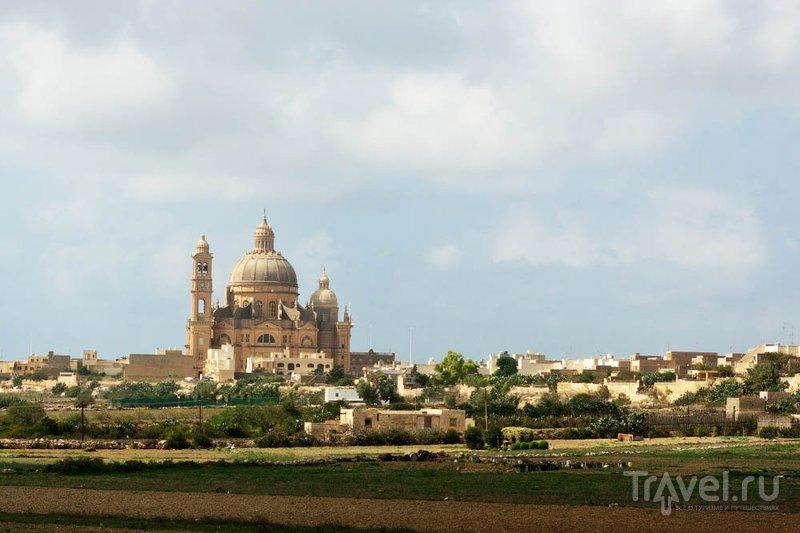 Город на Гозо / Фото с Мальты