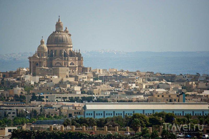 Церковь Иоанна Крестителя в городе Шеукия на Гозо / Фото с Мальты